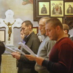 Молодіжна зустріч була присвячена св. апостолу Івану Богослову і свт. Тихону (Белавіну)