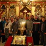 Молодежная встреча была посвящена св. апостолу Иоанну Богослову и свт. Тихону (Белавину)