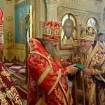 В кафедральном соборе города Баку Наместник Лавры возглавил праздничное богослужение