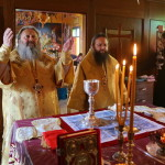 Metropolitan Pavel prayed on the Mount Tabor
