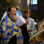 Празднование чудотворной иконы Введенского монастыря возглавил Наместник Лавры