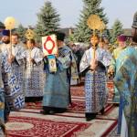 В Зимненском монастыре Наместник Лавры сослужил Предстоятелю УПЦ