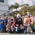 Наместник благословил паломников из Ровненской области