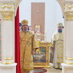 Metropolitan Pavel performed consecration of the church in the city of Bucha