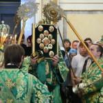 Торжества в день памяти Собора Печерских святых, в Дальних пещерах почивающих возглавил Предстоятель УПЦ