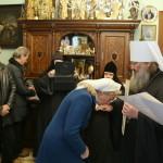 Награждение сотрудников Паломнического отдела в связи с юбилеем