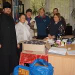 Братия соцотдела оказывают духовное окормление и помогают нуждающимся