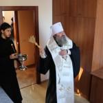 Наместник Лавры освятил новый братский корпус