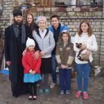 Соцотдел Лавры помогает подопечным из Киевской области