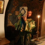 Metropolitan Pavel performed the Night Divine Liturgy in the Far Caves