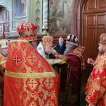 Богослужіння в Городницькому монастирі Житомирської області очолив Намісник Лаври