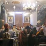 В Успенском храме в селе Томашовка Литургию совершил митрополит Павел