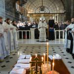 Богослужіння заупокійної Димитріївського суботи звершив Намісник Лаври