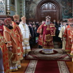 Богослужение в Городницком монастыре Житомирской области возглавил Наместник Лавры