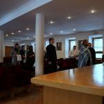 В Лавре состоялась первая просветительская встреча братии с православной молодежью