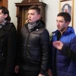 Воспитанники КДС поблагодарили Наместника за поездку по святыням Западной Украины