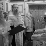 Первый молебен перед иконой Божией Матери «Скоропослушница»