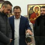 Открытие выставки, посвященной Святой Горе Афон (видео)