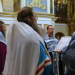 У День Незалежності України в Лаврі був звершений подячний молебень
