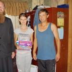 Братия навестили подопечных, проживающих под Киевом