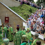 Наместник и братия Лавры молились на родине преподобного Антония