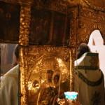 У день пам'яті святої рівноапостольної Ніни Намісник Лаври очолив Літургію у Дальніх печерах