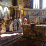 Празднество Происхождения Честных Древ Животворящего Креста Господня возглавил митрополит Павел