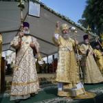 Братія Лаври зустріли Всеукраїнський хресний хід