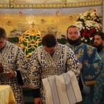 Наместник Лавры почтил чудотворную икону Богородицы в Почаеве