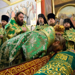 The memorial day of venerable Barlaam, the hegumen of the Caves