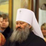 В столичном Свято-Введенском монастыре Литургию возглавил Митрополит Павел