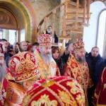 Намісник Лаври співслужив Предстоятелю УПЦ у с. Ковалівка