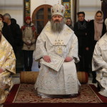 Литургия в храме cвятой великомученицы Варвары