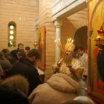 В Предтеченском приделе Великой церкви Наместник Лавры совершил Литургию