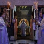 В Навечір'я Хрещення Господня Намісник Лаври співслужив Предстоятелю