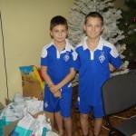 З Різдвом Христовим дітей з реабілітаційного центру с. Копилов привітали братія соцвідділу Лаври