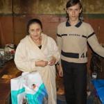 Подопечных организации «Звоны Чернобыля» поздравили братия Лавры