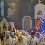 У Різдвяний святвечір Намісник Лаври співслужив Предстоятелю УПЦ
