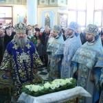 Литургия в столичном храме Рождества Христова