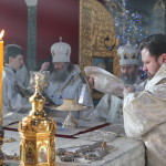 В Навечерие Крещения Господня Наместник Лавры сослужил Предстоятелю
