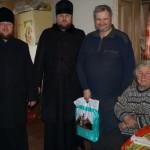 Многодетные семьи, пенсионеры, проживающие в Киевской области, получили помощь от братии соцотдела