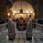 Митрополит Павел совершил чтение Великого покаянного канона в Трапезном храме