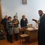 Лаврской братией освящено помещение издательства «Призыв»