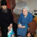 Братия соцотдела Киево-Печерской Лавры встречались с «детьми войны»