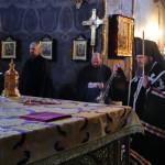 Чин Пассии в Трапезном храме Лавры совершил епископ Климент