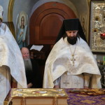 On the last Saturday devoted to Remembrance of the Departed Parents during the Lent, metropolitan Pavel led the repose services