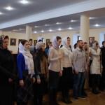 В первую годовщину «молодежки» участники встреч поблагодарили Наместника Лавры