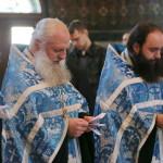 Читання Акафісту Успінню Пресвятої Богородиці очолив митрополит Павел
