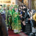 Предстоятель УПЦ почтил память преподобных Печерских