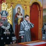 Наместник Лавры совершил Литургию свт.Григория Двоеслова в Крестовоздвиженском храме